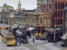 Model railroader John Ott has devoted years to creating a fantastically detailed, HO-scale recreation of Arkham, the site of HP Lovecraft's horror stories, complete with model railroad engines and ...