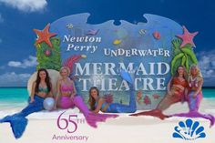 Happy 65th Birthday to Weeki Wachee Springs State Park!! On this date in 1947, Newton Perry's vision of beautiful women performing underwater ballet in a natural spring became a reality. As an iconic Florida attraction, visitors still are allured by the charm and beauty of the World Famous Weeki Wachee Mermaids.