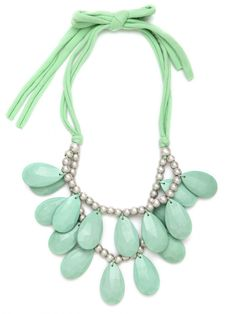 We adore our Mint Teardrop Bib.. one of our best-sellers!