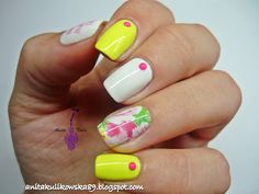 Water decals mani from Born Pretty Store  My code ANTH10- 10%off