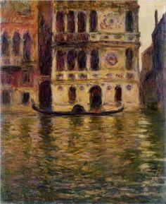 Palazzo Dario - Claude Monet