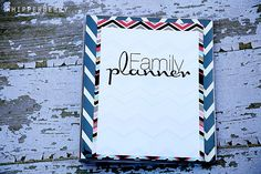 Family Planner | Free Printable from WhipperBerry