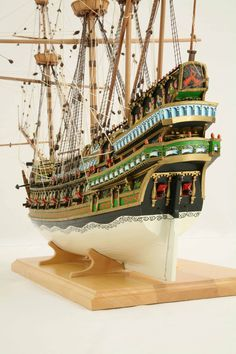 Ship model Stockholm Galleon of 1610