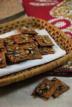 Recette crakers apéritifs graines