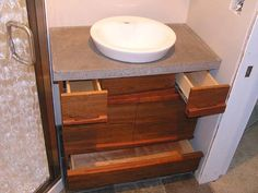... very nice. The two top drawers are very narrow to avoid the plumbing There are plenty of beneficial ideas pertaining to your woodworking undertakings at http://www.woodesigner.net