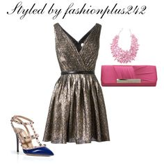 """Pewter Love"" by thyrajohnson on Polyvore"