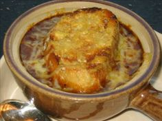 Famous Barr's French Onion Soup: One of St. Louis' favorite soup recipes was recently printed in the Post-Dispatch. Says: I remember going to St. Louis when I was young and my family going into the department stores restaurant for this famous soup. Enjoy!