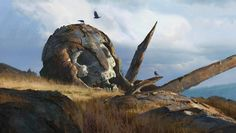 """Fallen God"" Art by Eytan Zana / United States"