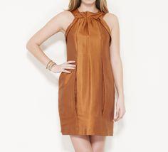 Vera Wang Orange Dress