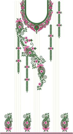 1 new message Latest Embroidery Designs, Peacock Embroidery Designs, Saree Embroidery Design, Hand Embroidery Patterns Free, Border Embroidery Designs, Hand Embroidery Dress, Bird Embroidery, Phulkari Embroidery, Salwar Suits Pakistani