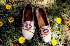 Tribal Handpainted Toms