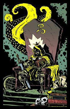 Yellow king Dr doom