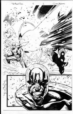 mighty thor 5 page in mark morales's olivier coipel Comic Art Gallery Room Comic Book Layout, Comic Book Pages, Comic Book Artists, Comic Artist, Comic Books Art, Monochromatic Art, Manga Comics, Marvel Comics, Superhero Design