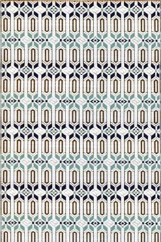 Mad Mats Moraccan Cool Silver Rug 88$