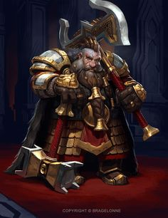 Dwarven General  The Dwarves, Paul Mafayon on ArtStation at https://www.artstation.com/artwork/aLD4X