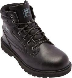 Fila Landing Steel Mens Steel-Toe Work Boots 25fe6e94002