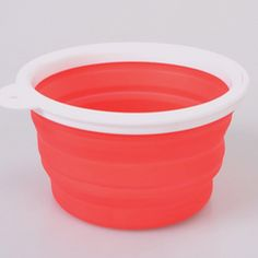 365mx Pet Products silicone Bowl pet folding portable dog bowls wholesale for food the dog drinking water bowl pet bowls (pink) -- Awesome products selected by Anna Churchill
