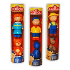 Caillou Toy Figures Set - Includes 6 Toy Figures