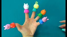 Peppa Pig in English. Finger Puppet Theater Peppa Pig. Review on the toy...