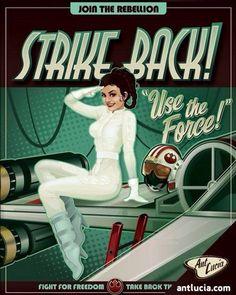 The Empire Strikes Back Propaganda Poster