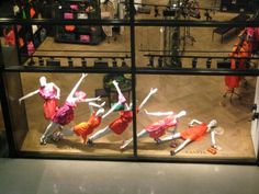 Lanvin Las Vegas - amazing window display We sell all kinds of mannequins @ www.mannequinmadness.com!