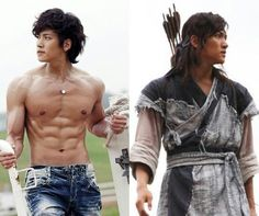 Warrior ... holy abs!