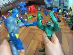 Crocodilo Killer Croc X Batman com Robin Hulk Homem Aranha Coringa Venom...