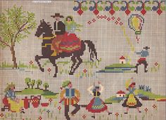 Vintage Portuguese pattern