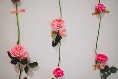 DIY: Fresh Flower Wall | Green Wedding Shoes | Weddings, Fashion, Lifestyle + Trave