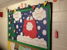 RA Renata utilized Snoopy as a theme to remind everyone to stay positive during finals.