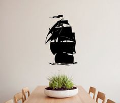 Housewares Vinyl Decal Sea Ship Sails Home Wall Art Decor Removable Stylish Sticker Mural Unique Design for Any Room Decal House http://www.amazon.com/dp/B00F4WNYJS/ref=cm_sw_r_pi_dp_3LNUtb14C6PRVK6Q
