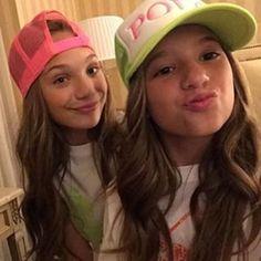 Mackenzie and Maddie