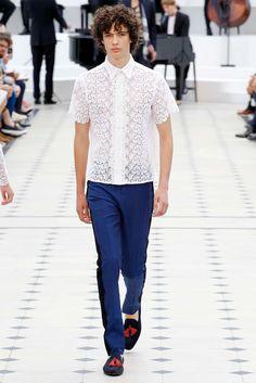 Burberry Prorsum Spring 2016 Menswear Fashion Show - Piero Mendez