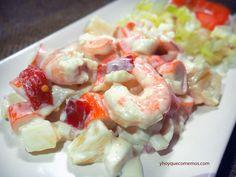 ensaladilla de marisco facil