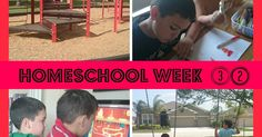 Week of Homeschooling