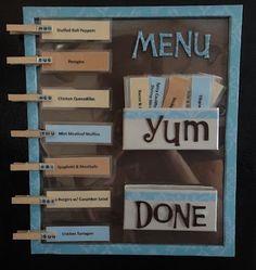 Clevere Idee für einen gut organisierten Wochenkochplan