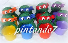 AE: Centro de Mesa Tartarugas Ninjas