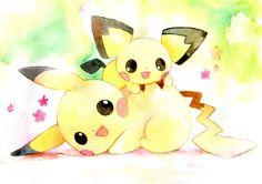 Pikachu  Pichu