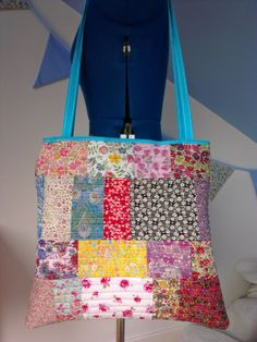patchwork quilted bag - home sewn! Home Sew, Quilted Bag, Daydream, Diaper Bag, Upcycle, Diy Ideas, Crafting, Make It Yourself, Sewing