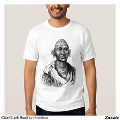 Chief Black Hawk T Shirt