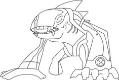 21 best Ben 10 Coloring Pages images on Pinterest   Coloring pages ...