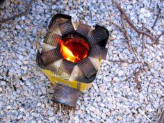 mini rocket stove