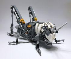 LEGO Mech Locusta migratoria-08 Robot Animal, Lego Animals, Cool Lego, Awesome Lego, Brics, Lego Worlds, Building Systems, Lego Technic, Lego Creations