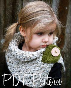Modelo del ganchillo-El otoño de la capucha adulto del niño por Thevelvetacorn
