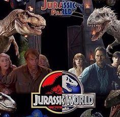 Jurassic Park vs Jurassic World.