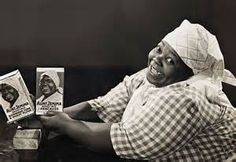 In 1890, a former slave named Nancy Green was hired to be the spokesperson for Aunt Jemima brand food products. Nancy Green was born into slavery in 1834 in Montgomery County, Kentucky. In 1889 the creators of Aunt Jemima, Charles Rutt and Charles Underwood, sold the company to R.T Davis, who soon found Nancy Green in Chicago.  Davis combined the Aunt Jemima look with a catchy tune from the Vaudeville circuit to make the Aunt Jemima brand.