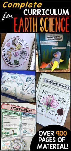 Earth Science Interactive Notebooks, PowerPoints, STEM Activities, Assessments, Google Classroom, and more! Units include Plate Tectonics, Ecosystems, The Rock Cycle, Rocks & Minerals, Volcanoes, Earth's Cycles, Photosynthesis, Biomes, Energy, and Weather.
