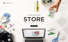 Create Your Own Store #Squarespace