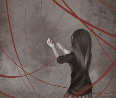 Red string of fate by Narkosespritze on DeviantArt