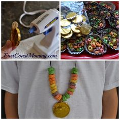 """Cute edible craft for little """"pirate lubbers""""!  It would also be fun for St.Patrick's Day or an Olympics theme."""